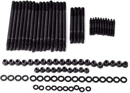 For Chevy LS1 LQ9 12-Point Cylinder Head Stud Kit 5.3L 5.7L 6.0L small block