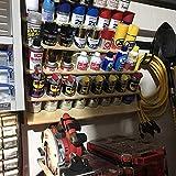 Spray Can Lube Holder Organization Storage Rack