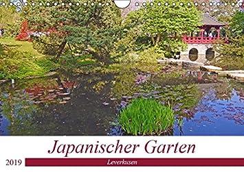 Japanischer Garten Leverkusen Wandkalender 2019 Din A4 Quer
