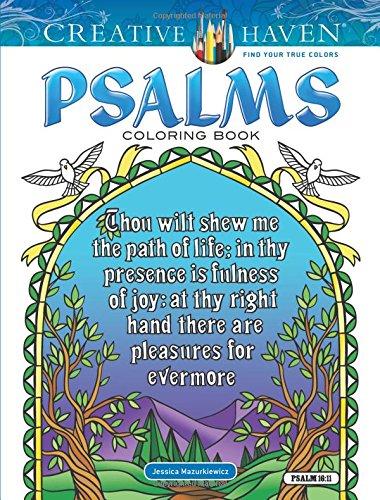 Creative Haven Psalms Coloring Book (Adult Coloring) [Mazurkiewicz, Jessica] (Tapa Blanda)