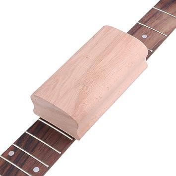 Yibuy - Taco radiado de madera para nivelado de trastes y diapasón de guitarra y bajo, herramienta de lutier: Amazon.es: Instrumentos musicales