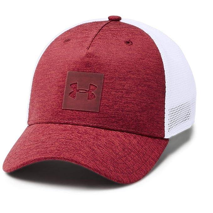 best sneakers b1dcd a9f27 Under Armour Men s Twist Trucker Cap, Aruba Red  Cardinal, One Size Fits