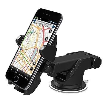 Teléfono Soporte para coche 360 ° Universal celular soporte de coche para parabrisas o salpicadero cuello