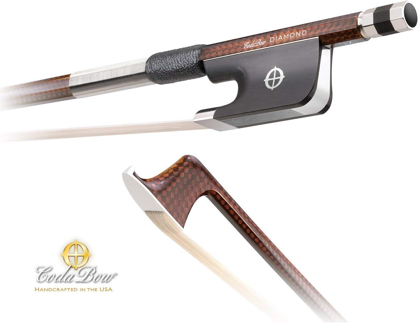 CodaBow Diamond NX Carbon Fiber 4/4 Cello Bow