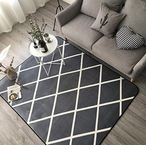 Amazon De Kooco Trend Kleine Teppiche Und Teppiche Fur Wohnzimmer