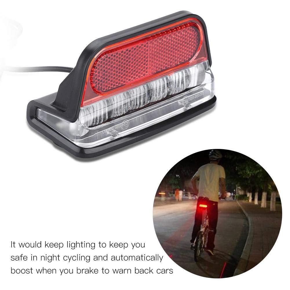 Lightweight Powerful Safety Waterproof Bike Rear Lamp for Mountain Bike VGEBY Bike Taillight Road Bike