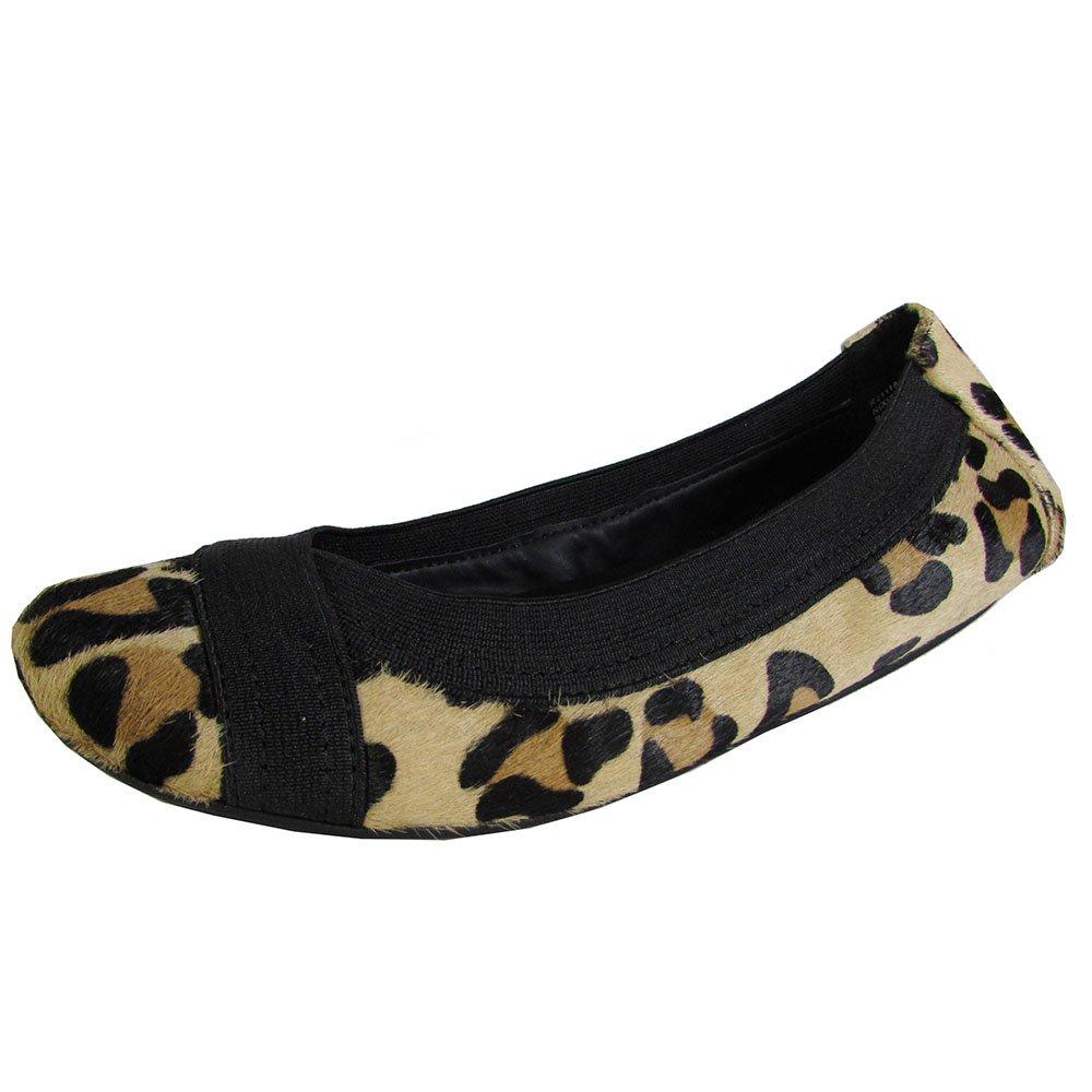 Adam Tucker Women's Nixie Flats Shoes B01AUYIR0U 6.5 B(M) US|Tan Jaguar
