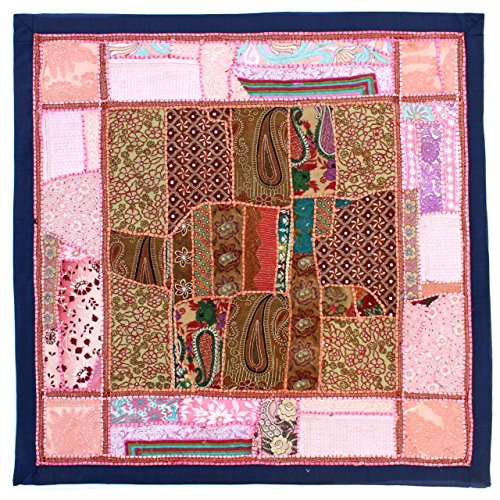 Vintage Embroidered Patchwork  Wall Hanging Tapestry