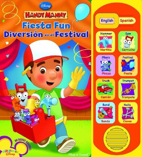 Play-a-Sound: Handy Manny, Fiesta Fun / Diversión en el Festival