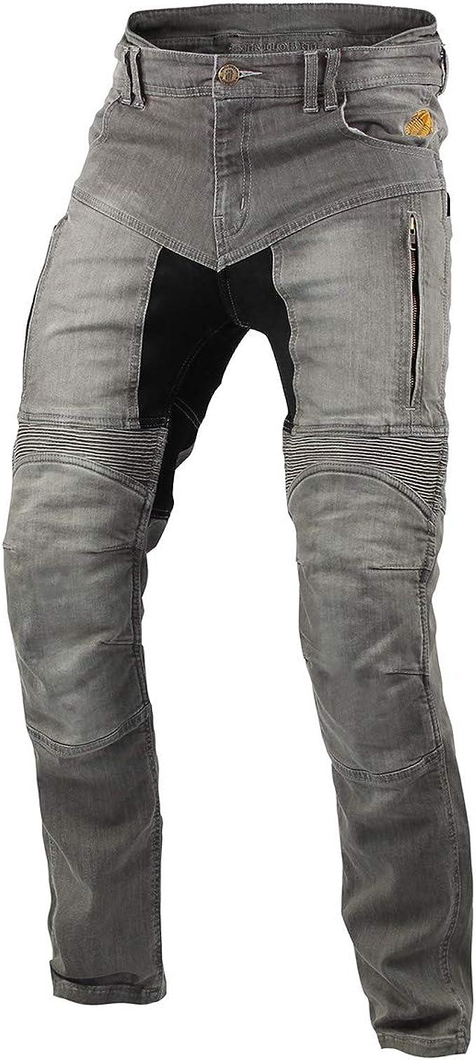 Pantaloni Beni di Protezione Unisex Pantaloni Kevlar Parado Trilobite 661 Parado Pantaloni Adulto Jeans da Moto