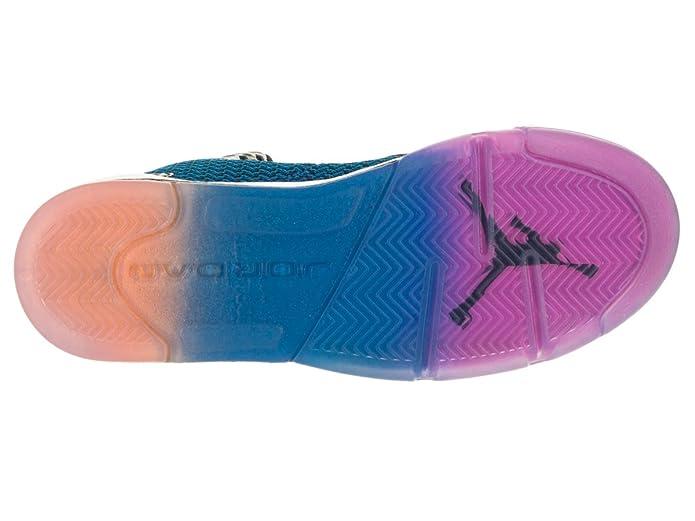Nike Air Jordan Spike Forty BG Chaussures de Sport Garçon Noir Rose