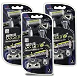 Dorco Pace 6 Plus - Six Blade Disposable Razors with Trimmer -...