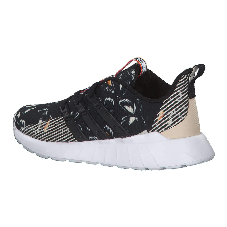 adidas Damen Questar Flow Fitnessschuhe, Weiß, 40 EU schwarz / grau