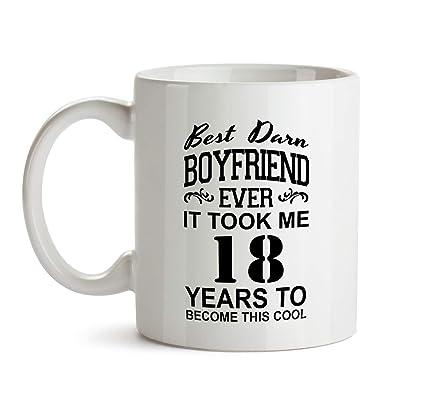18th Boyfriend Birthday Gift Mug