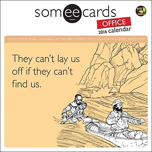 2016 Someecards Mini Calendar