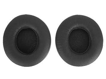 WEWOM Almohadillas de Repuesto para Cascos Beats by Dr. Dre Solo3 Wireless, Negro