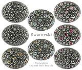 Swarovski rhinestone Crystal Belt Buckle