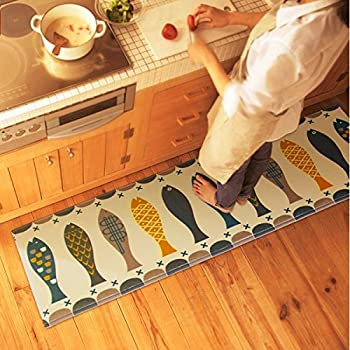 Amazon Com Bamboo Floor Mat 24 X 72 Kitchen Mats