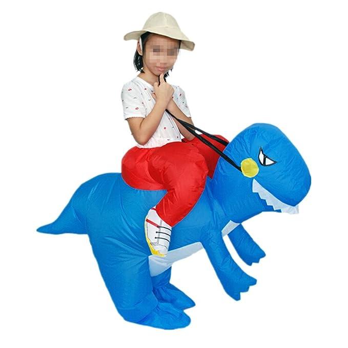 inflable Traje Divertido para Ninos Disfraces Hinchable Dinosaurio ...