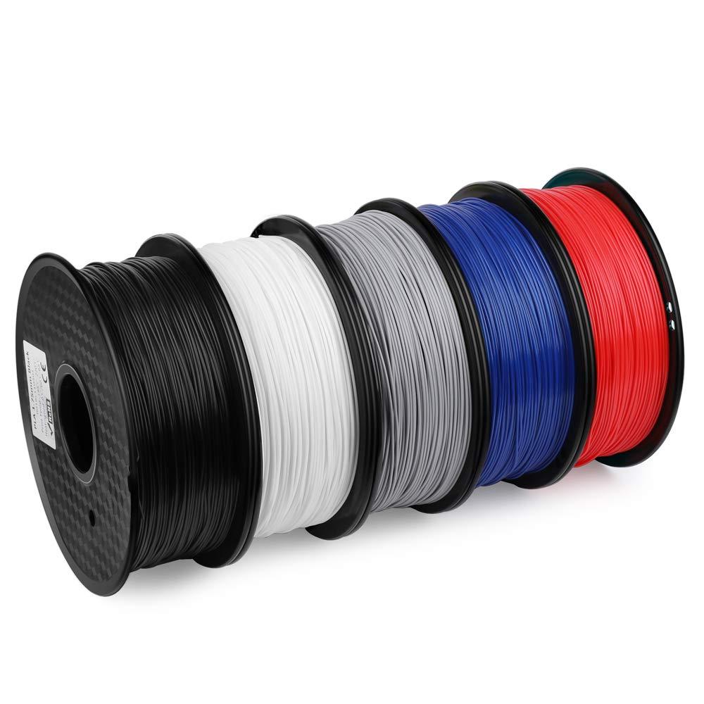 ELEGOO PLA Filamento de Impresora 3D, Precisión Dimensional +/- ...