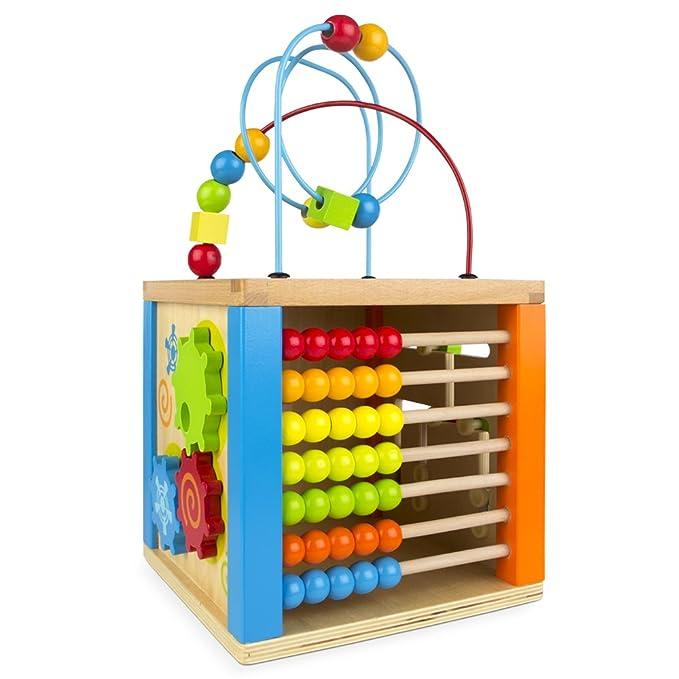 ColorBaby - Centro de actividades de madera & ábaco (42745)