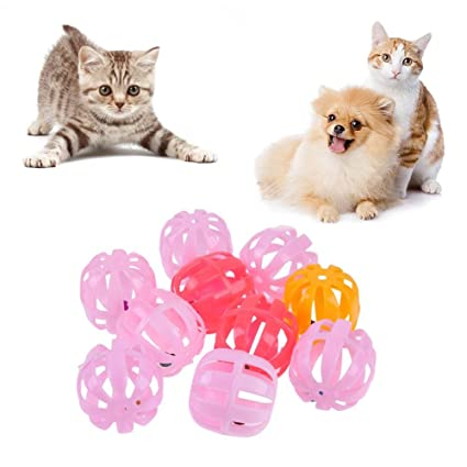 Broadroot Pelotas de juegos para gatos con cascabel Jingle Bell
