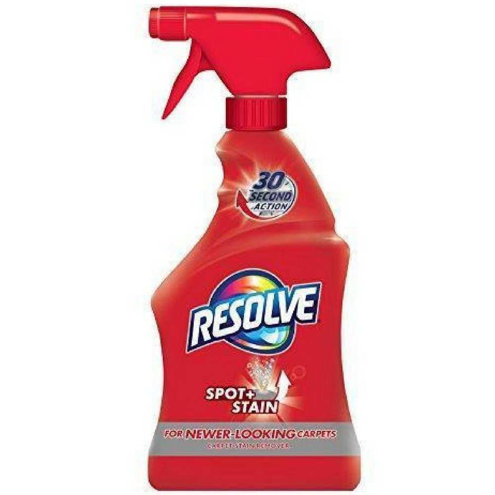 Resolve Carpet Spot & Stain Remover, 16 fl oz Bottle, Carpet Cleaner (Pack of 3)