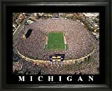 Michigan Wolverines - Michigan Stadium - The Big House - Lg - Framed Poster Print