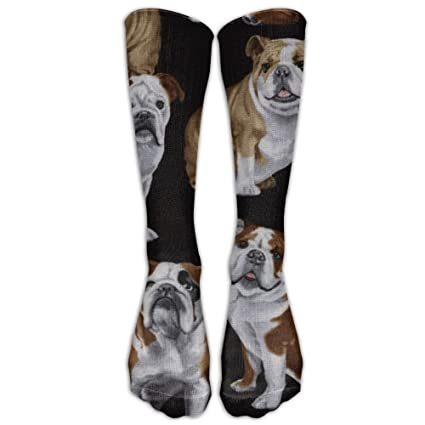Amazon com: English Bulldogs Knee High Graduated Compression Socks
