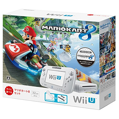 WiiU本体 マリオカート8セット shiro