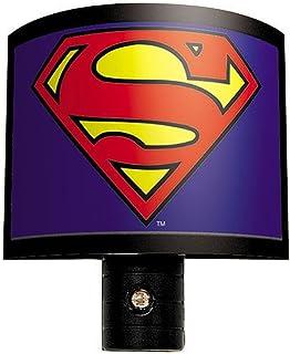 Exceptional Ata Boy DC Comics Superman Logo Nite Lite