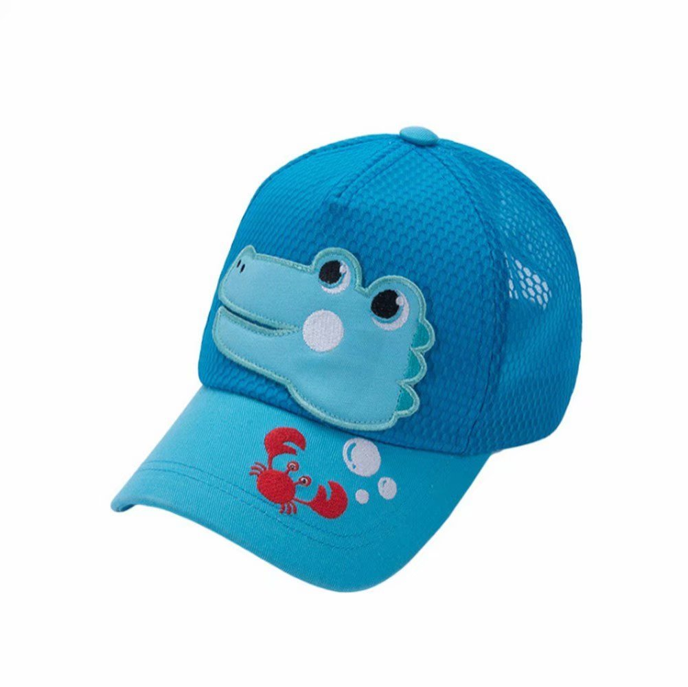 Emigeno Little Boys Baseball Cap UPF 50+ Sun Hat, Age 2-8 Blue