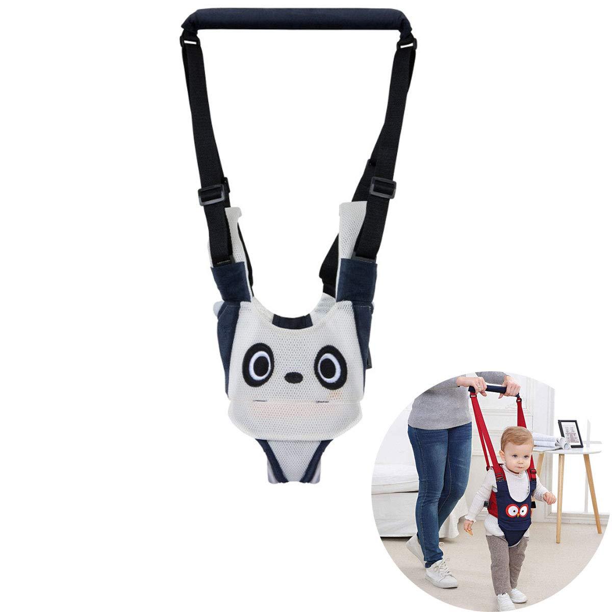 Panda TANGGER Lauflernhilfe Gehhilfe f/ür Baby,Baby Gehhilfe Jungen und M/ädchen Atmungsaktive mit Sicherheitsverschluss Walker Sicherheitsleinen,Taillenumfang 54-70cm,Geeignet f/ür Babys 6-24 Monate