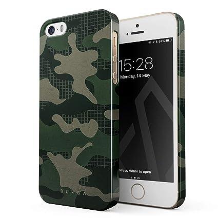 Amazon.com: burga camuflaje para iPhone 5/5S/se carcasa ...