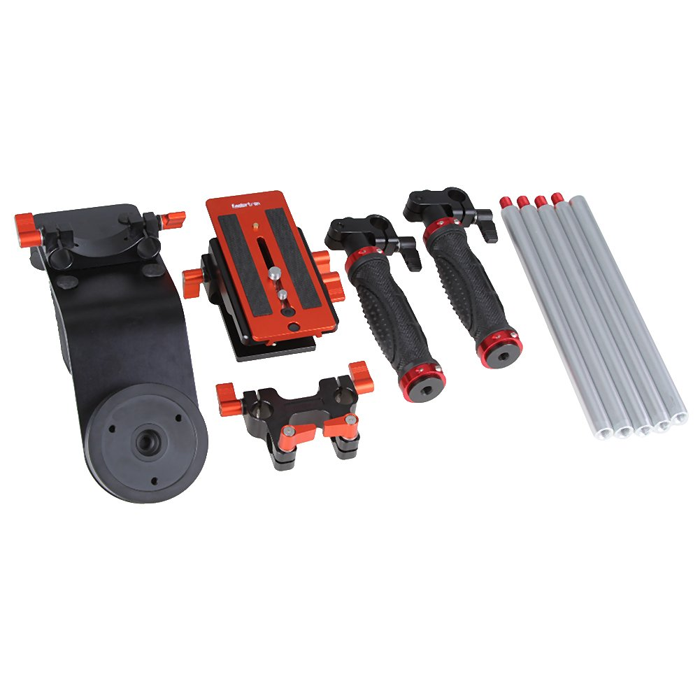 Koolertron Shoulder Pad DSLR Rigs DSLR Cage Camera Shoulder Stabilizer For Canon Nikon Olympus