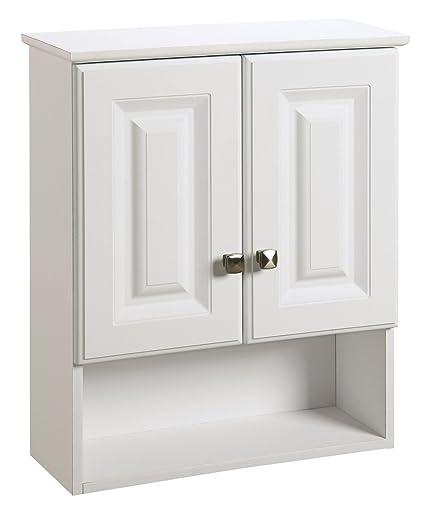 Amazon Design House 531715 Wyndham White Semi Gloss Bathroom
