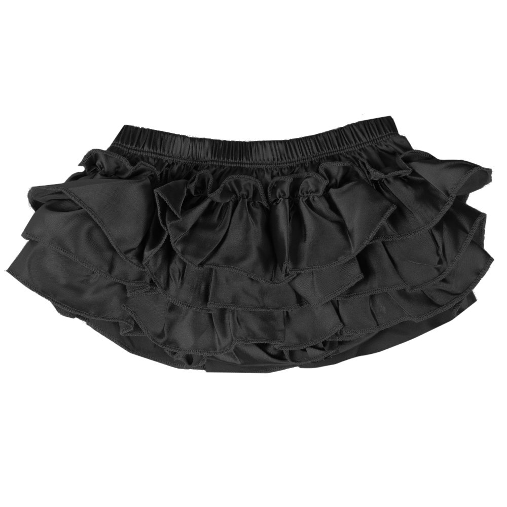 judanzy Ruffle Chiffon or Satin Tutu All Around Bloomer Diaper Cover