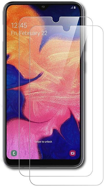 AICEK [2-Pack Protector de Pantalla Samsung Galaxy A10, Cristal ...