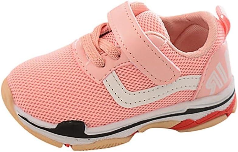 PAOLIAN Verano Zapatos Para Beb/é Para Ni/ña y Ni/ños Rejilla Zapatos de Ni/ñito Antideslizante Breathable Alfabeto Casual Calzado de Deportes Mocasines Aire Libre y Deporte De 6 Meses 12 Meses 2T 2.5T 3T
