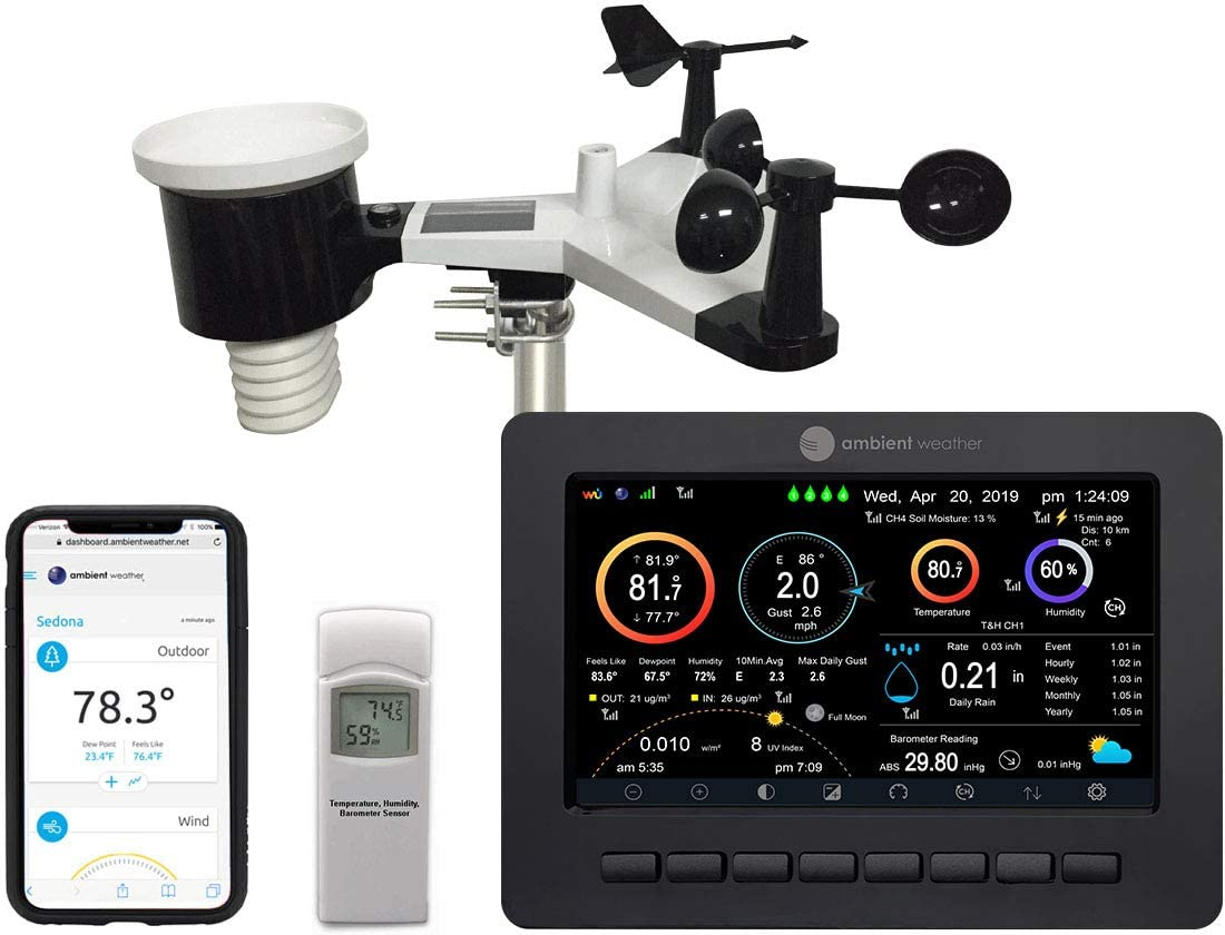 Ambient Weather Station with WiFi Monitoring