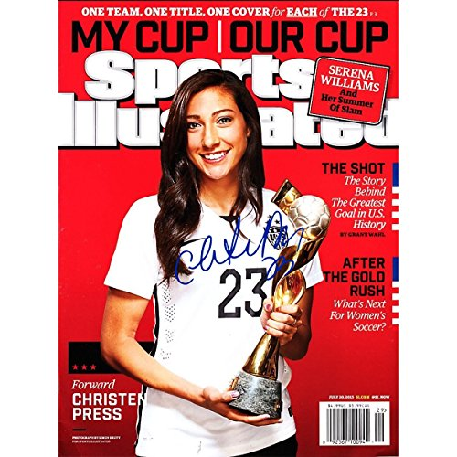 Christen Press Signed Sports Illustrated 2015 World Cup Edition 6/20/2015