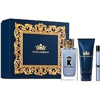 Dolce & Gabbana K for Men 3-Piece Gift Set (100ml Eau De Toilette Spray +75ml After Shave Balm+10ml Eau De Toilette…