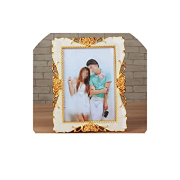 """Brand New Multi Colour Picture Frame Photo Frame 5/""""x7/"""" Table Stand Gold Silver"""