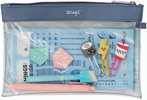 Kit para personalizar y alegrar tu agenda Mr. Wonderful, multicolor