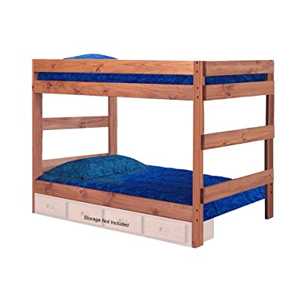 Amazon Com Chelsea Home Full Over Full One Piece Bunk Bed In