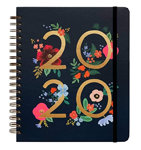 Amazon.com : 2020 Wild Rose Spiral Bound Planner by Rifle ...