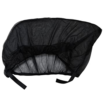 ece6df5ed002 Amazon.com : USHOT 2x Car Rear Window UV Mesh Sun Shades Blind Kids  Children Sunshade Blocker Black : Beauty
