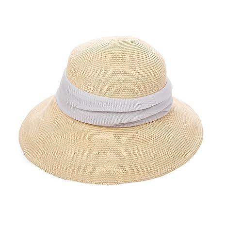 XIAOYAN Gorras Gorro de protección solar al aire libre de las mujeres del verano Sombrero hecho