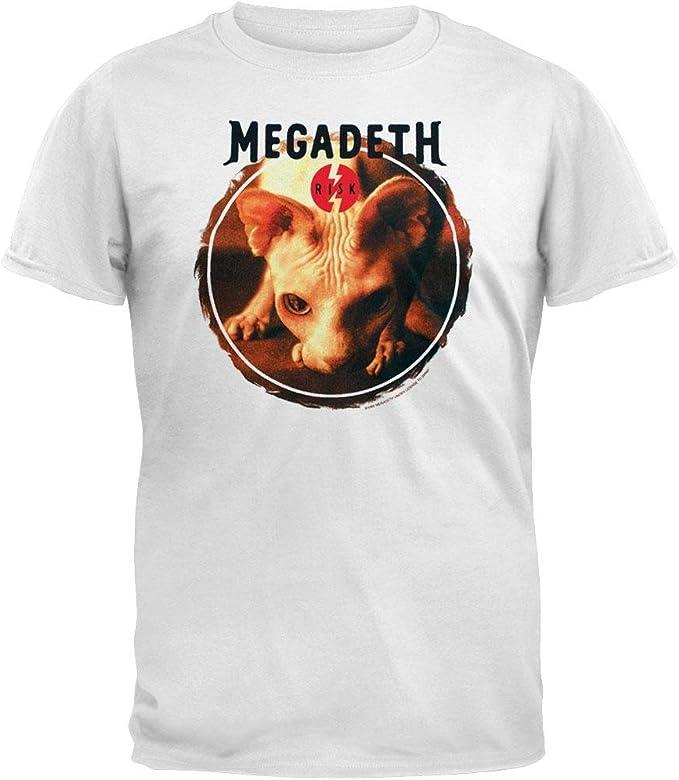 white megadeth t shirt
