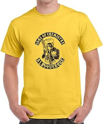 Breaking Bad Sons of Albuquerque de química T-Camiseta de Manga Corta Camiseta para Hombre: Amazon.es: Ropa y accesorios